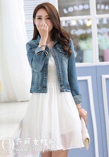 蕾丝裙子搭配什么外套 与四种外套巧搭时尚有气质